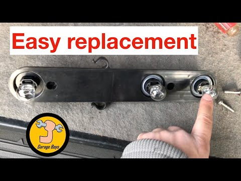 How To Replace Brake Light On Dodge Nitro