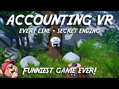 ACCOUNTING VR (All Dialogue, No Commentary) Best HTC Vive Game from Rick and Morty Creator