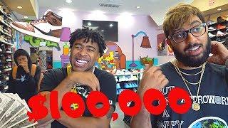 @Prettyboyfredo GOES SNEAKER SHOPPING $100,000!!! (SHOE GIVEAWAY)