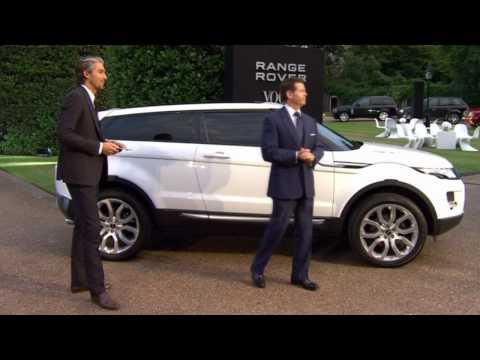 2011 Range Rover Evoque launch Kensington Palace HD