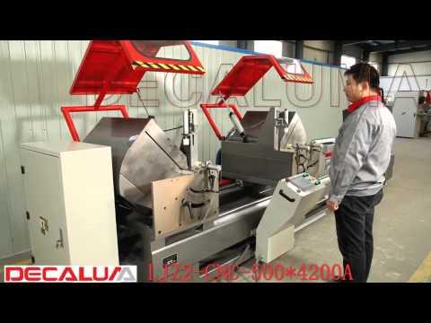 CNC Aluminum Double Head Cutting Machine