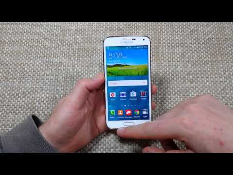 Samsung Galaxy S5 How to Close your Recent or Open Background Apps to Stop Running