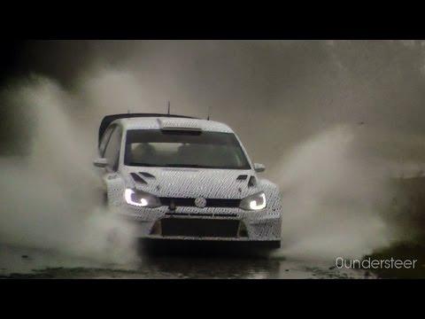 VW Polo R WRC '13 - Sebastien Ogier - Testing Germany 14.10.12 [HD]