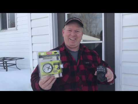 Ryobi Door Lock Install Jig and Keyless Deadbolt Install