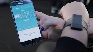 SenceTech smart HRV monitor