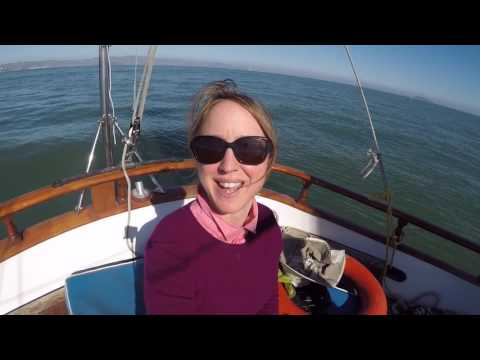 Sailing to Angel Island in the San Francisco Bay