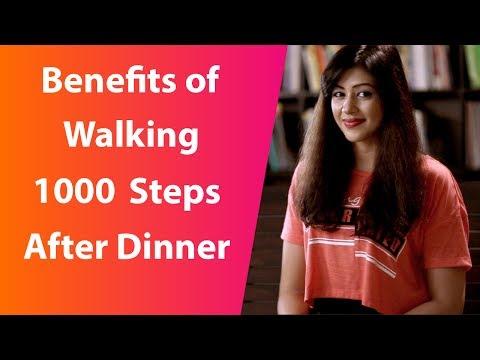जानिए Dinner के बाद 1000 steps चलने के फायदे I Sapna Vyas