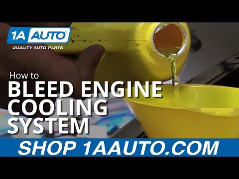 How to Properly Bleed Engine Cooling System