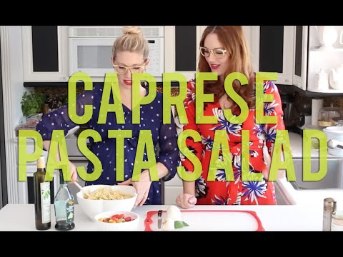 How To Make A Caprese Pasta Salad - Easy, Simple Dinners for Summer