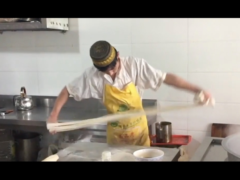 Making Perfect Hand Pulled Lanzhou Beef Noodles (Lamian). This Is How It's Done!