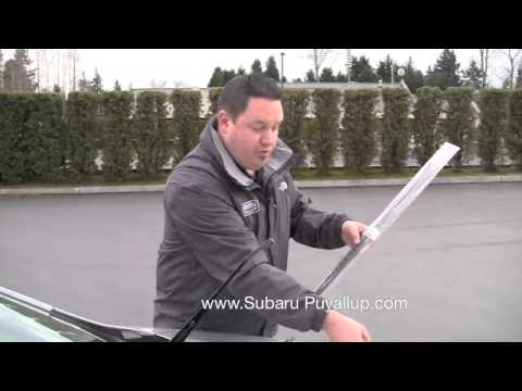 How to Replace Windshield Wipers on your Subaru