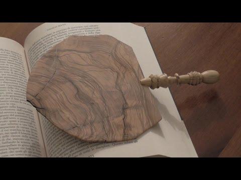 Segnalibro di legno - Wooden Bookmark