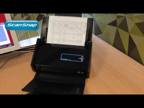 Scan your documents to Excel with ScanSnap