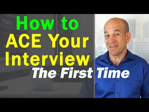 How to ACE your next job interview - question & answer strategies