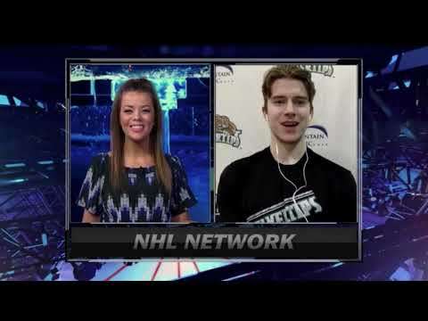 Carter Hart Interview w/ NHL Network