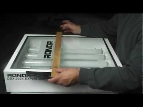 Silk Screen Printing  Exposure Unit, Entry level , Make Screen Images