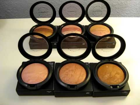 MAC Colour Craft Haul Part 1 (Mineralized Skinfinish)