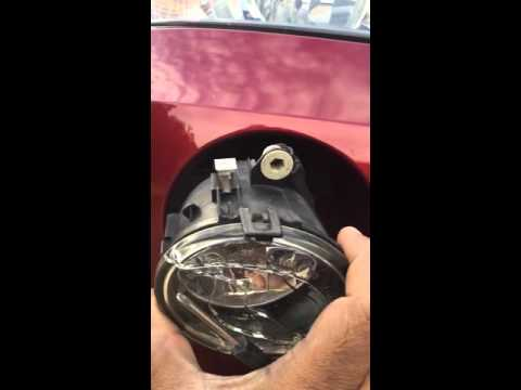 How to change BMW X3 fog light or replace bulb in 5 mins
