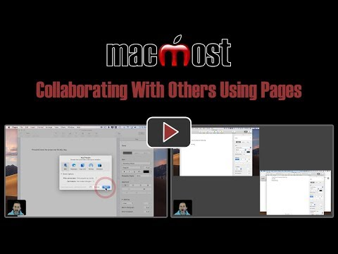 Collaborating With Others Using Pages (MacMost #1819)