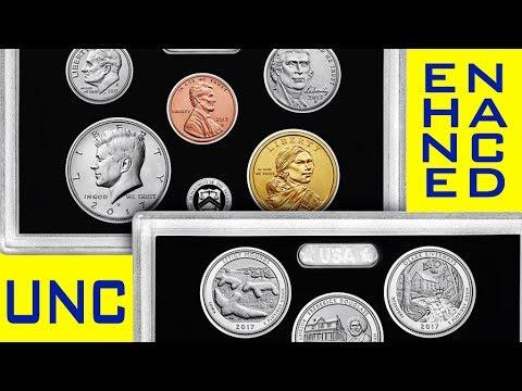 A US Mint FIRST: 2017 Enhanced Uncirculated Set