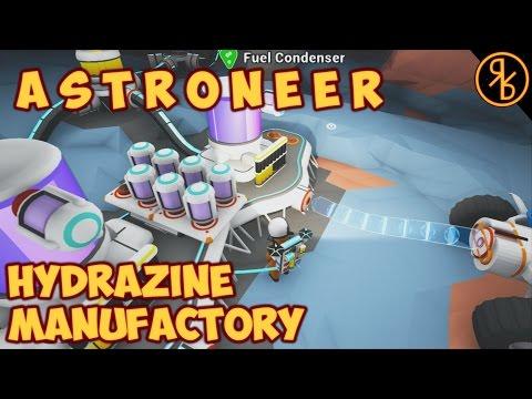Hydrazine Manufactory Underground - Astroneer