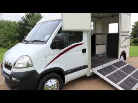 FE57ESO Vauxhall Movano Horsebox | Used Movano Horsebox | Frosts4Cars Sussex