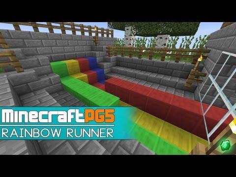 [Mini Game] Rainbow Runner Mini - Minecraft 1.7 Snapshot