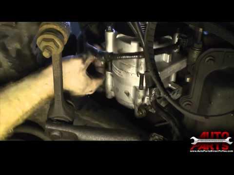 2000 Lincoln Town Car AC Compressor and Accumulator Drier