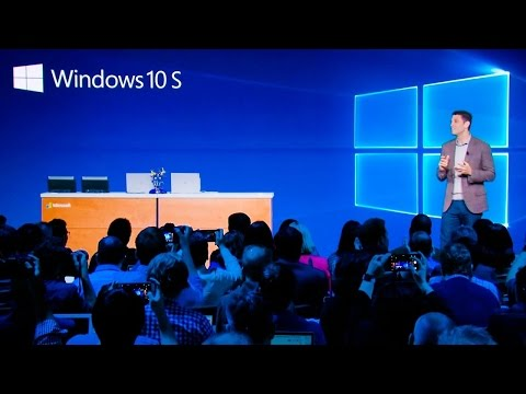 Microsoft Windows 10 S Full Presentation | Introducing Surface Laptop | May 2017 Keynote.