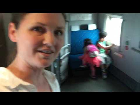 How to catch shinkansen (bullet train) in Japan with kids