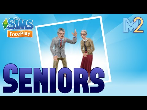 Sims FreePlay - Seniors Quest with Harry Potter (Let's Play Ep 23)