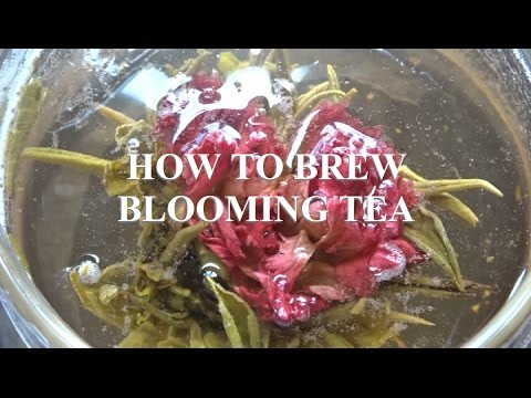 How To Brew Blooming Tea 🌸 Teabloom