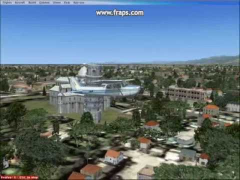 Flying from Pisa's  San Giusto airport to check out the leaning..wmv
