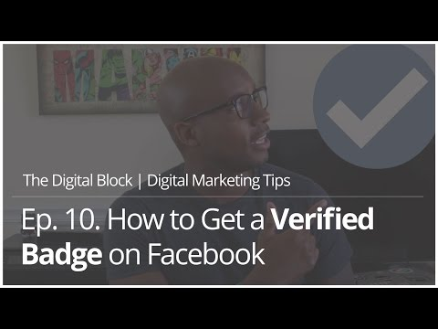 How to Get a Verified Badge on Facebook | Ep.10