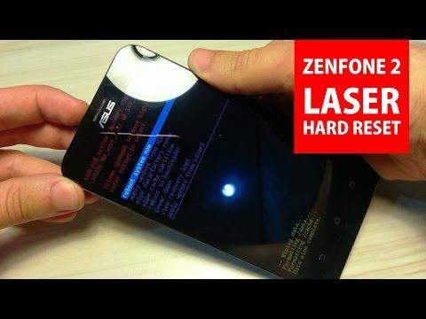 Asus ZenFone 2 Laser Hard Reset - Factory Reset (Format Atmak)