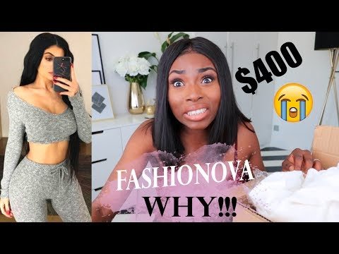 FASHIONNOVA WHY?! I SPENT $314 HERES MY FIRST IMPRESSIONS & HONEST REVIEW