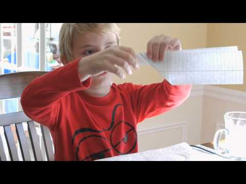 How to make a 3 Winged Paper Airplane