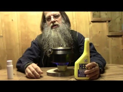 Make A Simple DIY Alcohol Stove