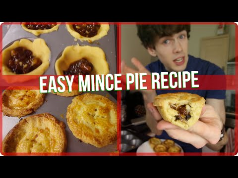Easy Mince Pie Recipe! Christmas Baking