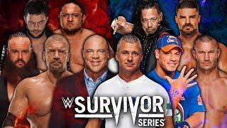 WWE2K18 Survivor Series 2017: TEAM RAW vs TEAM SMACKDOWN