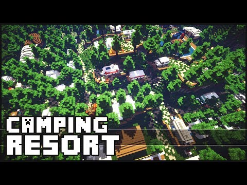 Minecraft - Amazing Camping Resort