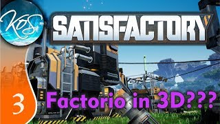 Satisfactory Ep 3: WILD AND BEAUTIFUL ANIMALS - Early Access - Let's Play,  Gameplay - PlayKindle org