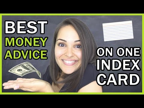 Everything You Need To Know On 1 Index Card!!!