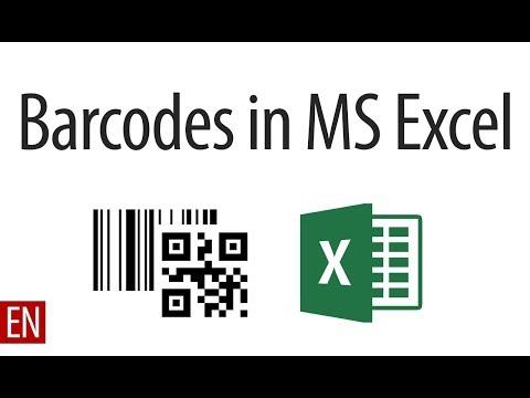 How to Generate free Barcode in excel | एक्सेल के प्रयोग से फ्री बारकोड कैसे बनाएं