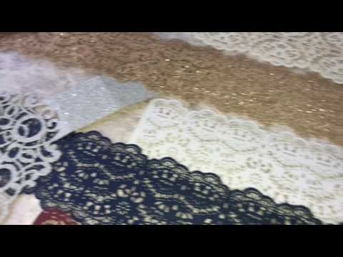 Luxurious Eyelash Lace Belly Bands for Invitations-Janicepaper