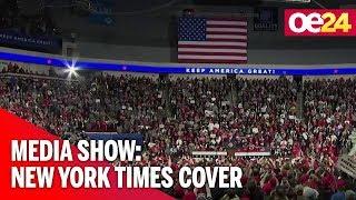 Media-Show: Das Cover der New York Times