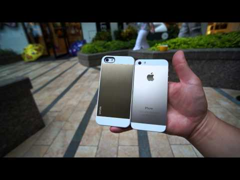 Spigen Saturn Revisited: Cleanest iPhone 5S Gold Case Available