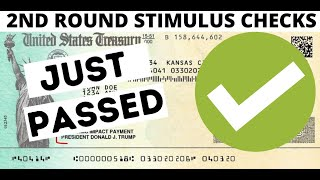FINALLY New Stimulus Check PASSED | HEROES Act $1200 Stimulus | Second Round Stimulus Check UPDATE
