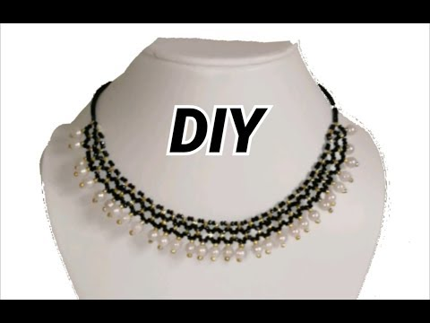 Choker necklace making in different style