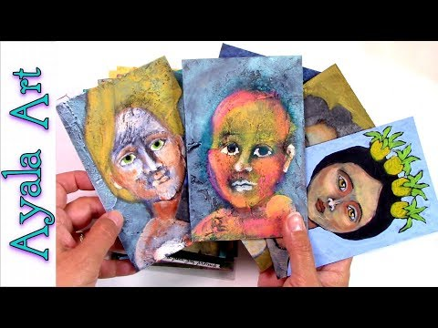 Mixed Media Paintings and chat